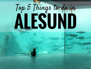 Top 5 Things to do in Alesund Norway with kids