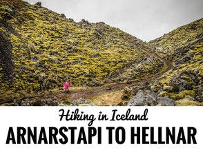 Hike Arnastapi to Hellnar Snaefellsnes Peninsula Iceland with kids