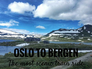 Oslo to Bergen on the most scenic train ride