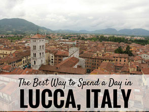 Lucca, Italy with kids