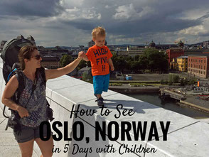 Oslo Norway with children