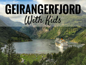 Geirangerfjord - One of Norway's most beautiful fjords! Here's how to visit with kids...