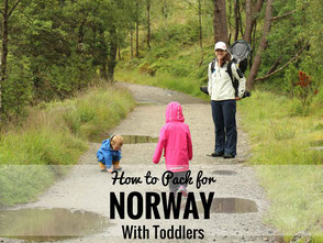 How to Pack for Norway with Toddlers