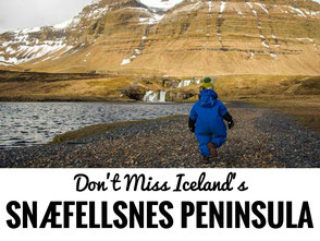 Snaefellsnes Peninsula Iceland with kids