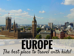 12 Reasons Why Europe is Perfect for a Family Vacation! | Family Travel | Travel Europe | Travel with kids | #Europe #Italy #Rome #Paris #London #Barcelona