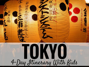4 Day Tokyo Itinerary with Kids - BabyCanTravel.com