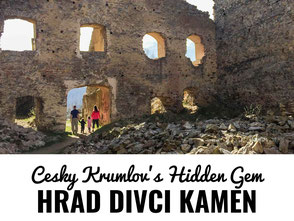 Cesky Krumlov's Hidden Gem. Don't miss a trip out to Hrad Divci Kamen!