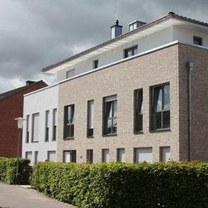 Neubau eines Wohnhause mit Staffelgeschoss