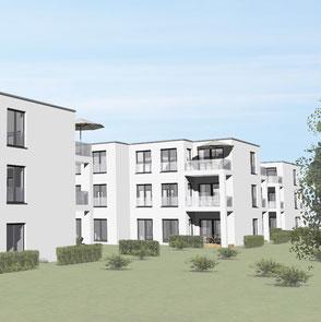 Neubau von 3 Wohnhäusern