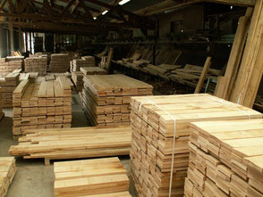 27mm lumber square edged, Fresh sawn oak beams, french oak beams, french oak sawmill