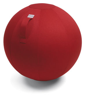 VLUV Sitzball aus leichtem Stoff