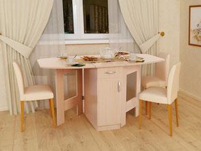 """Стоимость кухонных столов """"ЭКОНОМ"""" рассчитывается индивидуально"""