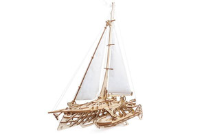 Holz puzzle, Boot