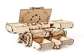 Holz puzzle, Schmuck Schatulle