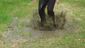 HOW TO CLEAN A PUDDLE