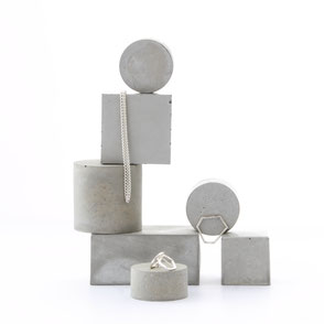 Modular Concrete Jewellery Photoshoot Styling Ideas By PASiNGA art and design