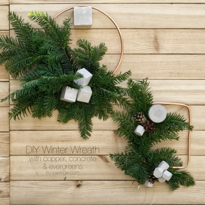 DIY Winter Wreath Tutorial