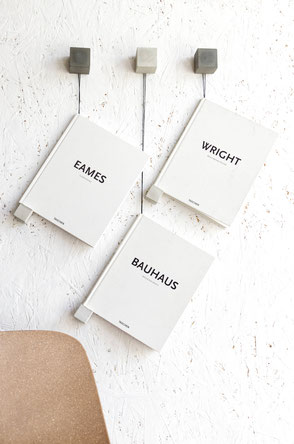 Minimal Concrete And Twine PASiNGA Magazine Wall Display or Book Holder Diy