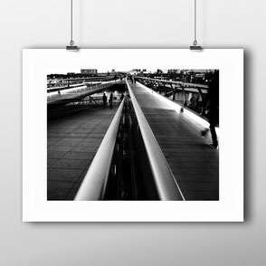 Photographic Art Print 'Millennium Bridge' by PASiNGA