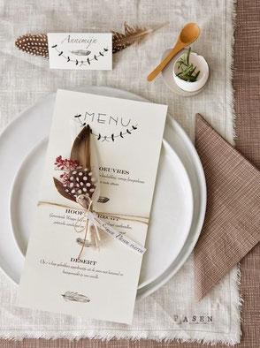 Easter Table Setting via stijlbloem.blogspot.co.uk