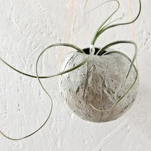 Concrete Hanging Globes by PASiNGA