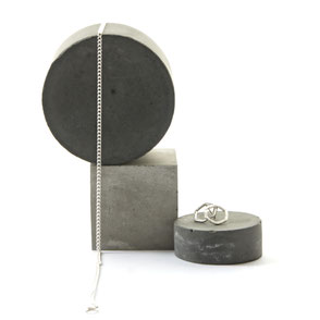 Monochrome Concrete Photography Props and Jewellery Styling Inspiration by PASiNGA