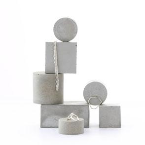 Modular Concrete Jewellery Photoshoot Styling Ideas By PASiNGA art and design
