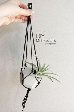 DIY Macramé Plant Hanger PASiNGA Tutorial