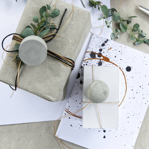 Concrete Copper Gift Wrapping By PASiNGA