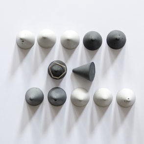 Concrete Cone Ring Stands By PASiNGA