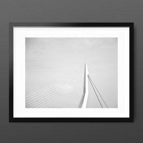 Photographic Art Print 'Erasmus Bridge' by PASiNGA