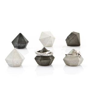 Set of 6 Cement Diamonds by PASiNGA