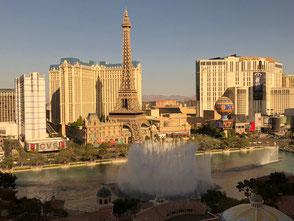 Blick aus dem Bellagio Hotelzimmer