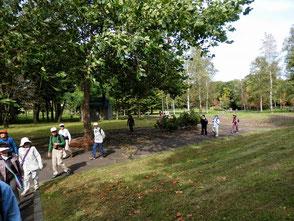 江部乙公園。紅葉には少し早いですね