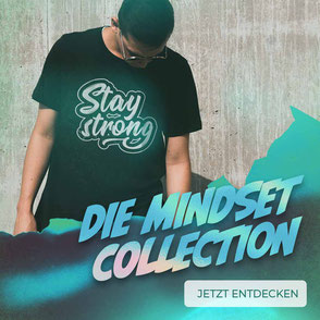 Stay strong tshirt mindset collection
