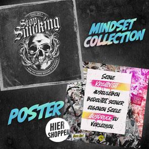 poster mindset collection stop smoking