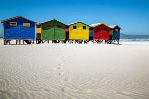 Muizenberg Südafrika Mietwagenreise