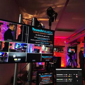 Eventstreaming Hybrid Bildschirm Leinwand Video