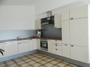 Einbauküche der Ferienwohnung in Fürth