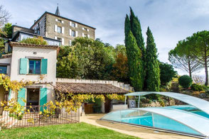 Cuq en Terrasse, gite Cuq Toulza, jacuzzi, piscine, Tarn, Pays de Cocagne, Terres d'Autan, office de tourisme, gite proche de Toulouse