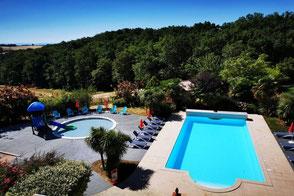 Hébergement de groupe à Maurens-Scopont, Domaine du Koukano, piscine, Tarn, Pays de Cocagne, Terres d'Autan, office de tourisme, village vacances proche de Toulouse