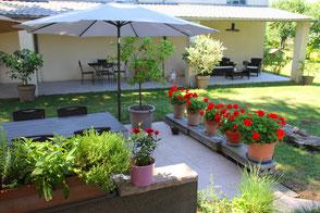 La Maison des Promenades, chambre d'hôte Sémalens, Tarn, Pays de Cocagne, Terres d'Autan, office de tourisme, proche de Toulouse