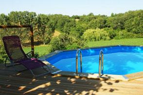Domaine de Flore, gite Saint-Germain-des-Près, piscine, Tarn, Pays de Cocagne, Terres d'Autan, office de tourisme, gite proche de Toulouse