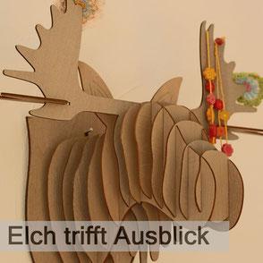 """Ferienwohnung """"Elch trifft Ausblick"""""""