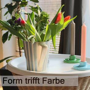 """Ferienwohnung """"Form trifft Farbe"""""""