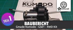 Abbildung: Gerys Modellbaublog – Baubericht-Teil 1: Gmade Komodo GS01 - 4Wd Kit