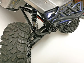crawlster®4Wd with tuning knuckles (aluminium)