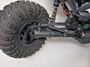 crawlster®4Wd an Standard-Knuckles (Kunststoff)