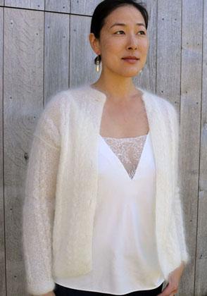Nos tricotés Main en mohair : pulls, gilets, ponchos ou
