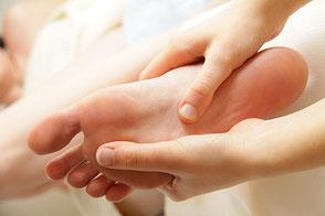 Fussreflexzonenmassage Aarau, BauchWohl Praxis für ein gutes Bauchgefühl, Angela Jordan